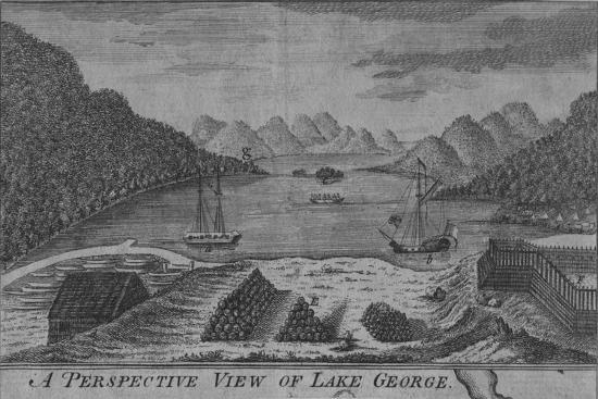 'A Perspective View of Lake George', c18th century-Unknown-Giclee Print