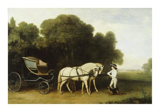 A Phaeton-George Stubbs-Premium Giclee Print