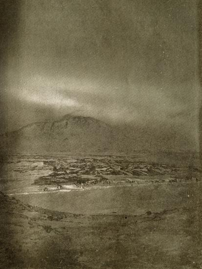 'A Photograph of the Aurora Australis', c1908, (1909)-Unknown-Photographic Print