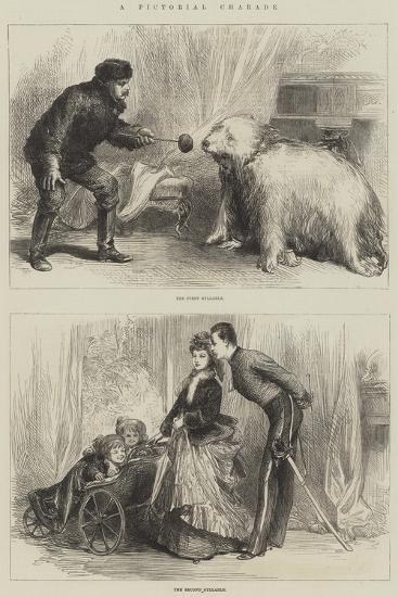 A Pictorial Charade--Giclee Print