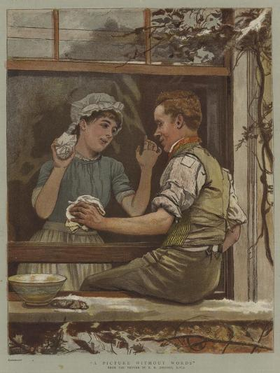 A Picture Without Words-Edward Killingworth Johnson-Giclee Print