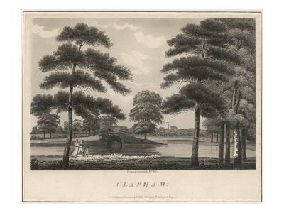 A Picturesque View of Clapham Common--Giclee Print