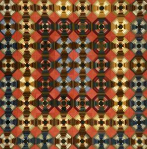 A Pieced Cotton and Flannel Coverlet, Pennsylvania, circa 1900