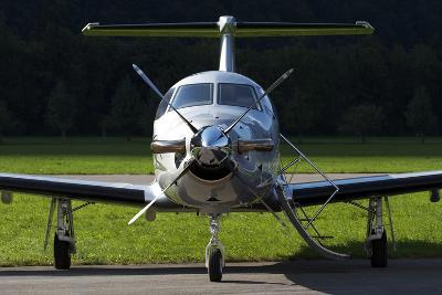 A Pilatus Pc-12 Private Jet--Photographic Print