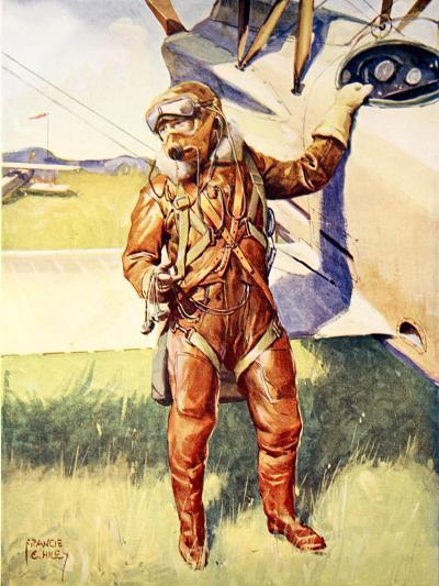 A Pilot Ready for a High Altitude Flight--Giclee Print