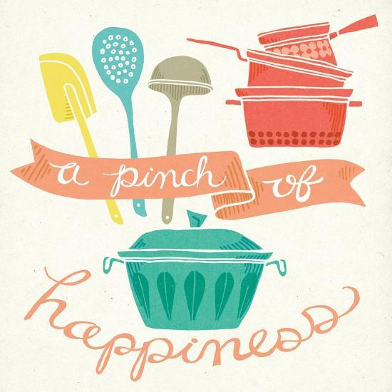 A Pinch of Happiness-Mary Urban-Art Print
