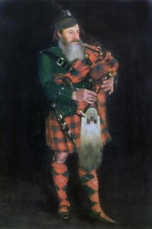 A Piper, 1885-William Kennedy-Giclee Print