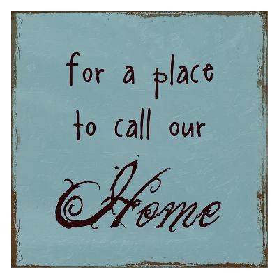A Place To Call Home-Sheldon Lewis-Art Print