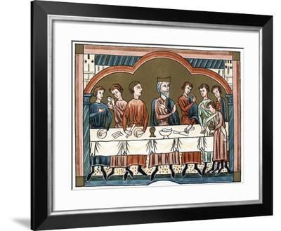 A Plantagenet King of England Dining--Framed Giclee Print