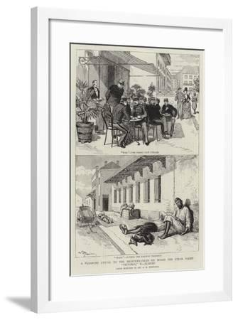 A Pleasure Cruise to the Mediterranean on Board the Steam Yacht Victoria, X, Algiers--Framed Giclee Print