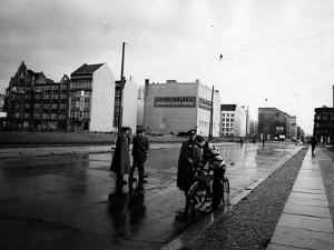 A Police Check in East Berlin