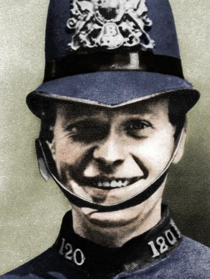 A policeman, London, 1926-1927-Unknown-Photographic Print