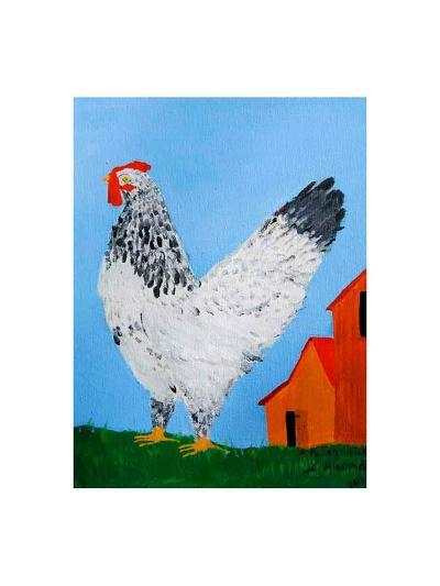 A Polish Chicken-Alexa Alexander-Art Print