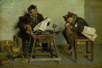 A Political Cobbler, 1873-Orfeo Orfei-Giclee Print