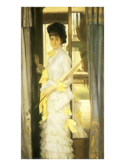 A Portrait, Miss Lloyd, 1876-James Tissot-Giclee Print