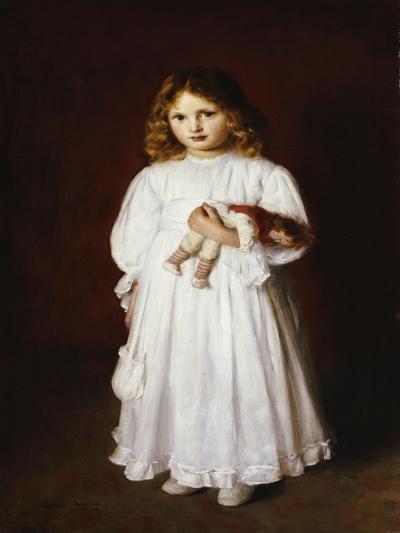 A Portrait of Dorothy-Edwin Harris-Giclee Print