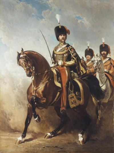 A Portrait of General Fleury on Horseback-Alfred Dedreux-Giclee Print
