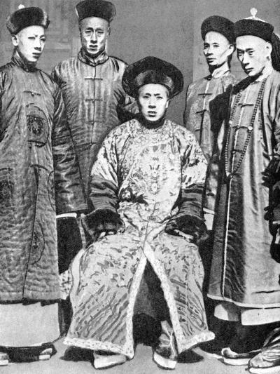 A Portrait of Mandarins, China, 1936--Giclee Print