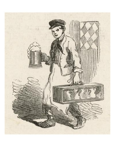 A Pot-Boy, Employed by a Pub to Deliver Pint and Quart Jugs of Beer to Nearby Homes--Giclee Print