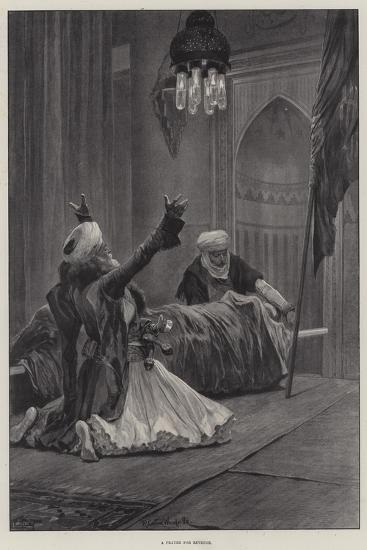 A Prayer for Revenge-Richard Caton Woodville II-Giclee Print