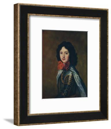 'A Prince of France', cearly 18th century, (1910)-Jean-Marc Nattier-Framed Giclee Print