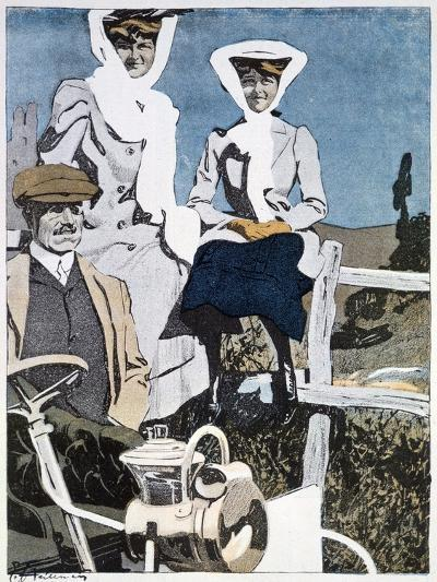A Print from the German Magazine 'Simplicissimus, 10th June 1907--Giclee Print