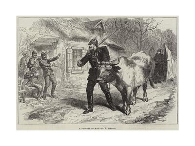 A Prisoner of War-William 'Crimea' Simpson-Giclee Print
