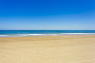 A Pristine Beach at Cabo Polonio, Accessible Only by Four-Wheel Drive Vehicles-Mike Theiss-Photographic Print