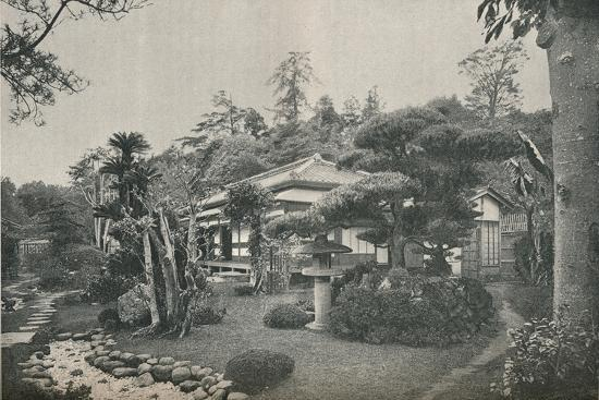 'A Private Garden at Yokohama', c1892-Unknown-Photographic Print