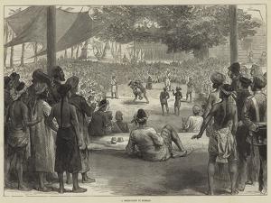 A Prize-Fight in Burmah