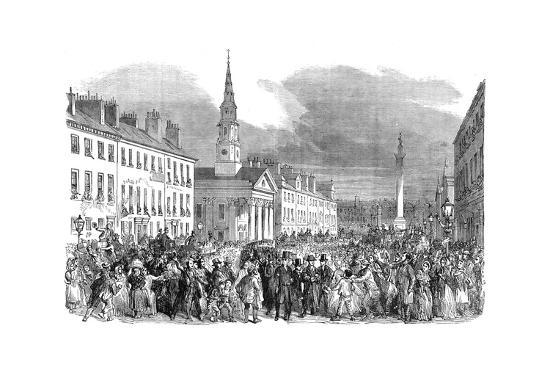 A Procession of Seceding Ministers from St.Andrew's Church, Edinburgh, C1895--Giclee Print