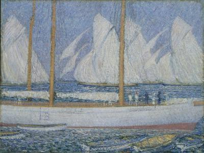 A Procession of Yachts-Philip Wilson Steer-Giclee Print