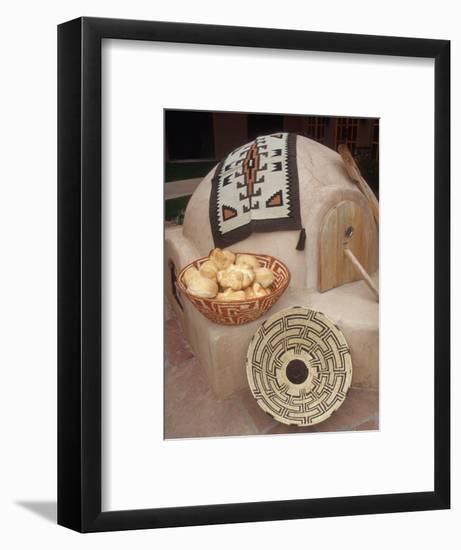 A Pueblo Bread Baking Oven Called an Horno-Yvette Cardozo-Framed Photographic Print