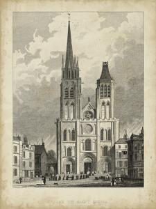 Eglise de St. Denis by A. Pugin
