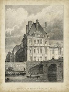 Pavillon de Flore and Pont Royal by A. Pugin