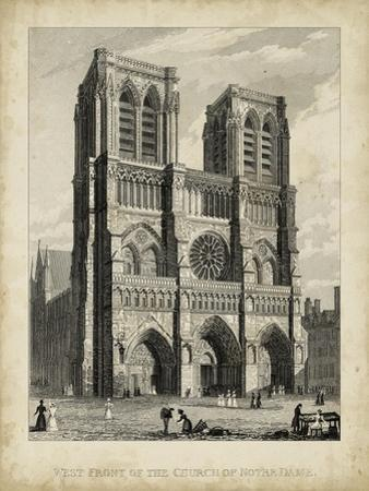 West Front-Notre Dame by A^ Pugin