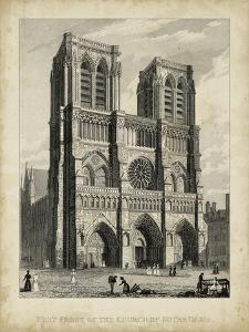 West Front-Notre Dame by A. Pugin