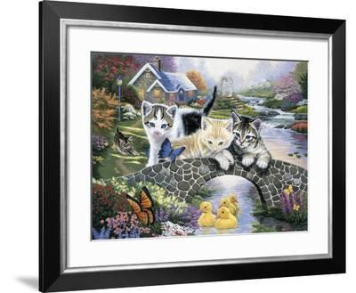 A Purrfect Day-Jenny Newland-Framed Giclee Print