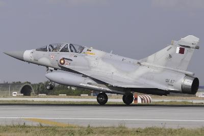 A Qatar Emiri Air Force Mirage 2000-5Dda Landing at Konya Air Base-Stocktrek Images-Photographic Print