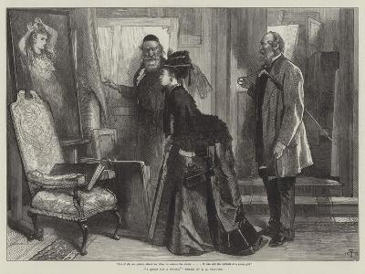 A Quest for a Cousin-James Abbott Pasquier-Giclee Print