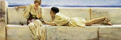 A Question (Xanthe and Phaon from Eber's novella 'Eine Frage')-Sir Lawrence Alma-Tadema-Giclee Print