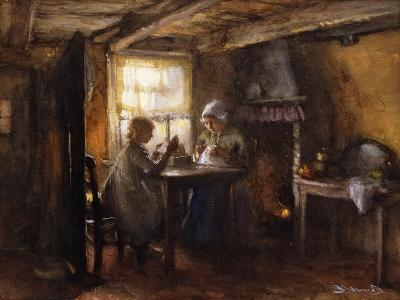 A Quiet Afternoon-Bernardus Johannes Blommers or Bloomers-Giclee Print