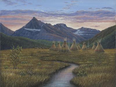 A Quiet Evening-Robert Wavra-Giclee Print