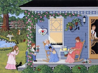 A Quiet Mother's Day-Sheila Lee-Giclee Print