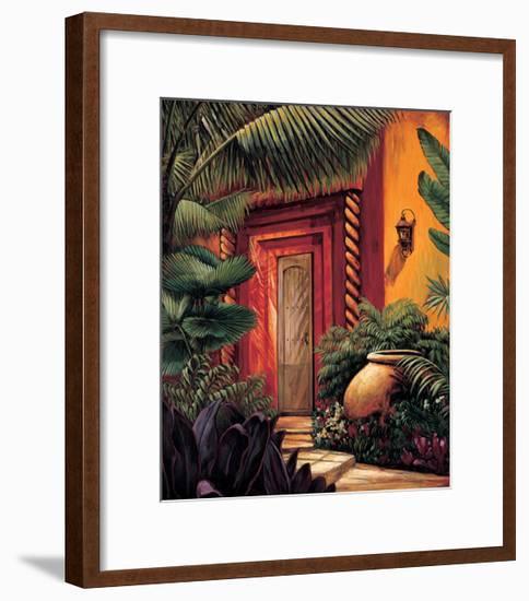A Quiet Place II-Eduardo Moreau-Framed Giclee Print