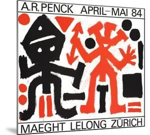 Maeght Lelong Zurich by A.R. Penck