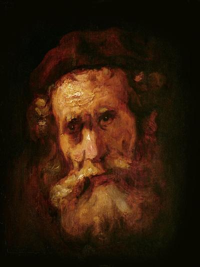 A Rabbi-Rembrandt van Rijn-Giclee Print