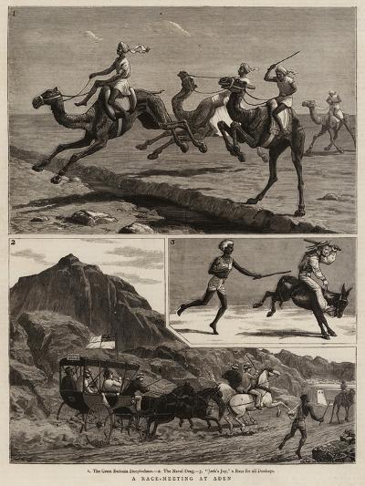 A Race-Meeting at Aden-John Charles Dollman-Giclee Print