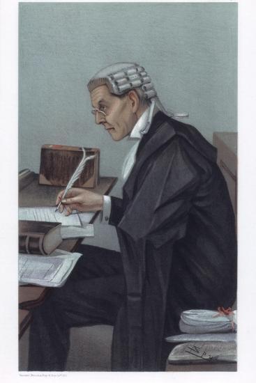 A Radical Lawyer, 1902-Spy-Giclee Print