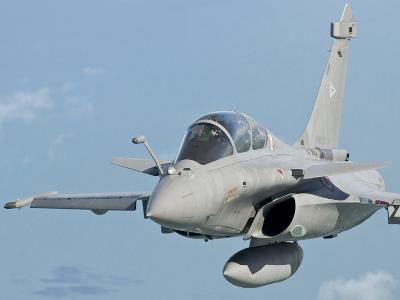 A Rafale B of the French Air Force in Flight over Brazil-Stocktrek Images-Photographic Print